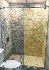 Tinted Glass Shower Door